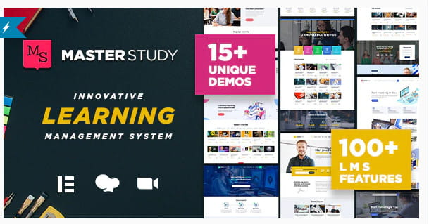 Masterstudy education WordPress theme.