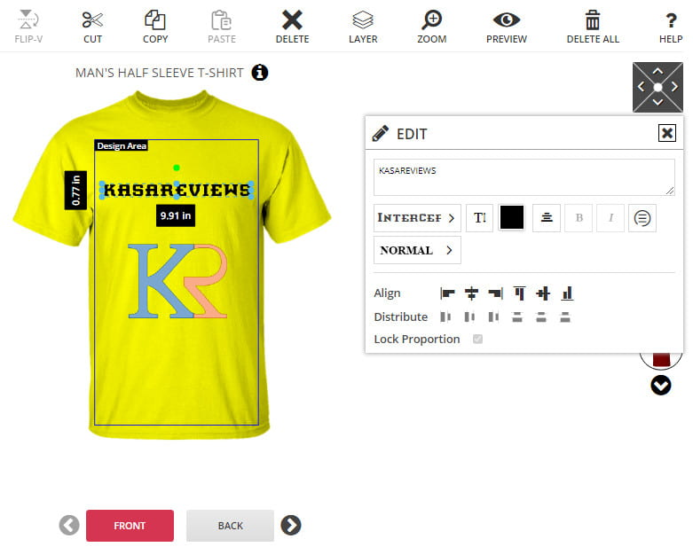 PrintCommerce available features.